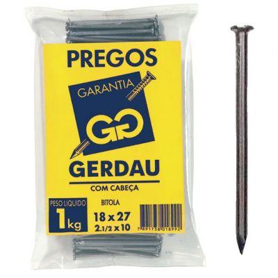 Prego Galv c/ Cbç 8x8 sc 50gr Belgo