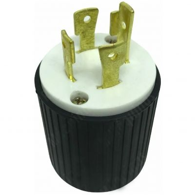 Plug 4 Pinos 220v Para Gerador de Energia