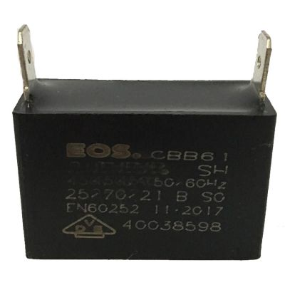Capacitor 13,5 uf Mg1300 Branco