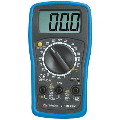 Multimetro Digital Et-1110 Minipa