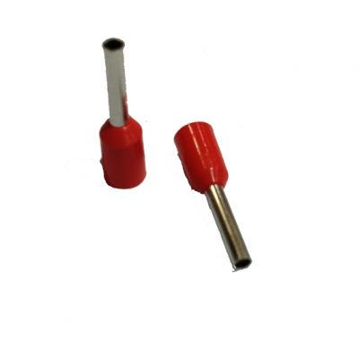 Terminal ti Tubular Duplo 1,0mm2 Tid-1-8 Vermelho