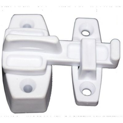 Trinco p/ Porta Sanf Pvc s/ Chave Branco