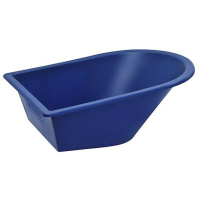 Caçamba Plastica 90l Azul Metasul