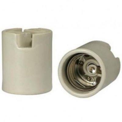 Soquete Porta Lampada Porcelana  E40 Mister