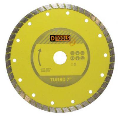 Disco Diamantado 180mm Turbo Dtools
