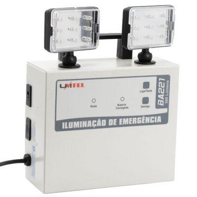 Luminaria Emergencia 2x15 Leds 35w Cada Unitel