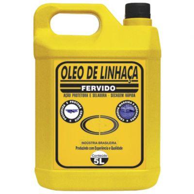 Oleo Linhaça Fervido 5l