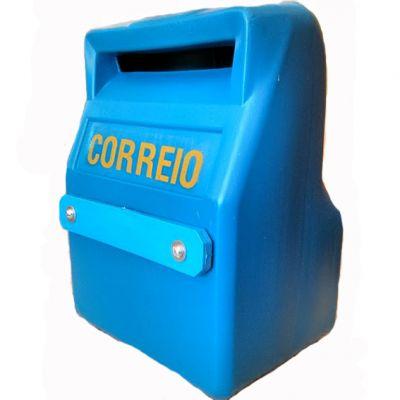 Caixa Correio Pvc Azul Guime/nacional
