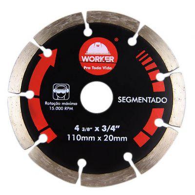 Disco Diamantado 230mm Segmentado Worker