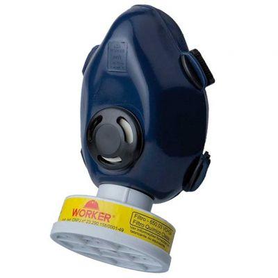Mascara 2 Filtro Pesticida Worker