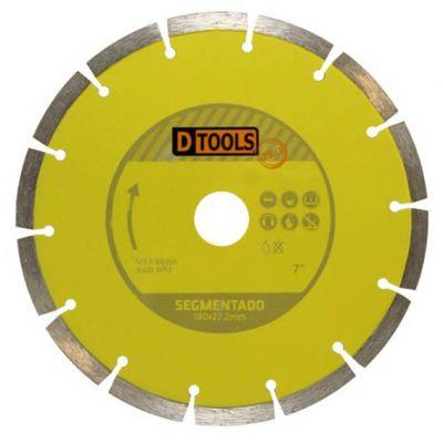 Disco Diamantado 180mm Segmentado Dtools