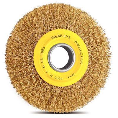 Escova Circular Arame Ond. 6x1 Latonado Tramontina
