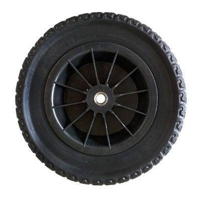 Roda Maciça pu c/ Bucha 19mm 75x360x360mm