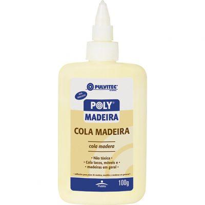 Cola Madeira 100g Pulvitec