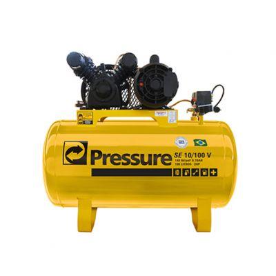 Compressor 10pes 140psi 100l 2cv Amarelo