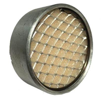 Filtro ar Aluminio 1/2 c/ Espuma