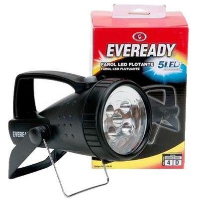 Lanterna Eveready Flutuante Farol 5 Leds Tipo 4d