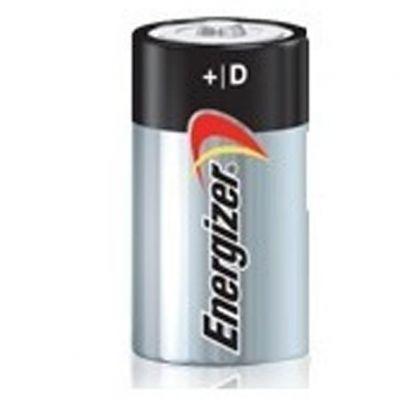 Pilha d2 Alcalina Energizer Max