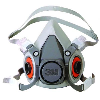 Mascara Respirador 6200 Semifacial Medio 3m( Não Acompanha Filtro )