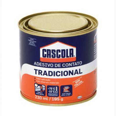 Cola Contato Cascola s/ Toluol 195g Tradicional