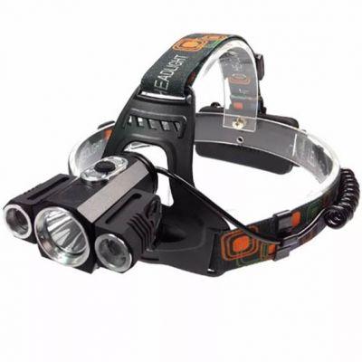 Lanterna Cabeça 3leds Sxz t6 50000w Headlight