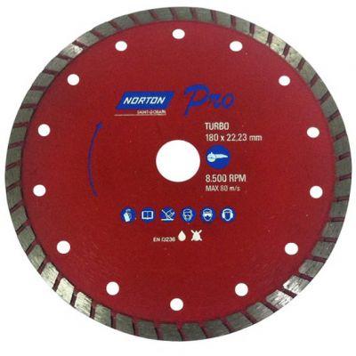 Disco Diamantado 180mm Turbo