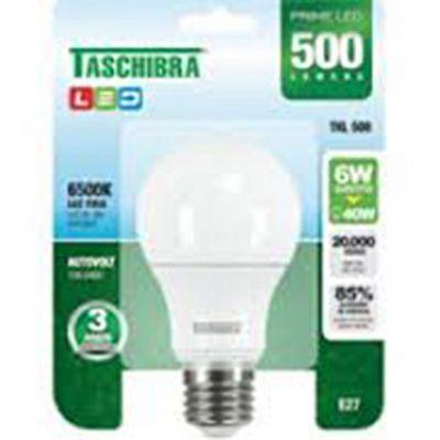 Lampada Led Bulbo 6w 6500k Taschibra