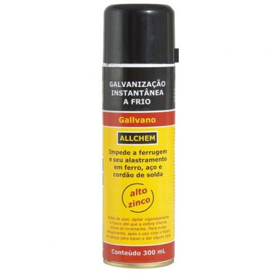 Spray Composto p/ Galvanizaçao Frio 300ml