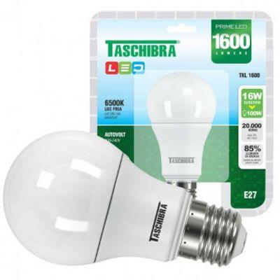Lampada Led Bulbo 16w 6500k Taschibra