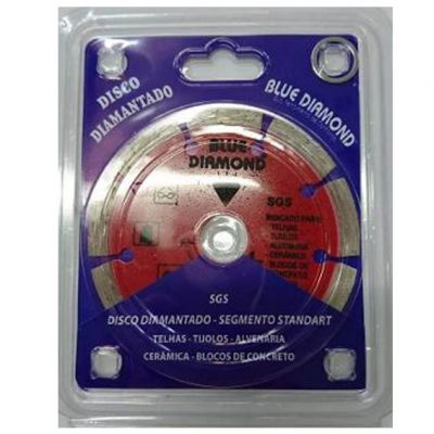 Disco Diamantado 110mm Segmentado Std Sgs