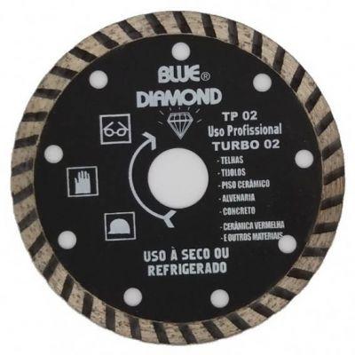 Disco Diamantado 110mm Turbo Std Tps