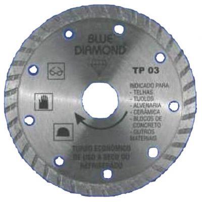Disco Diamantado 110mm Turbo Economico Tp-03