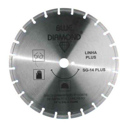 Disco Diamantado 350mm Segmentado Blue