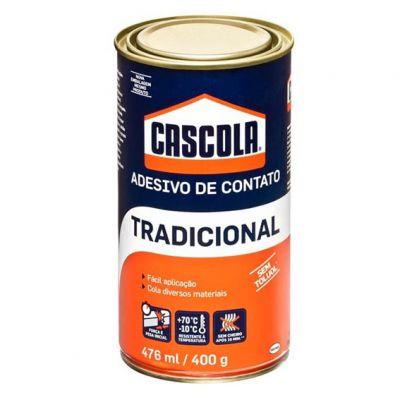Cola Contato Cascola s/ Toluol 400g Tradicional