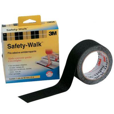 Fita Antiderrapante 50mmx5m Safety Walk Cinza 3m