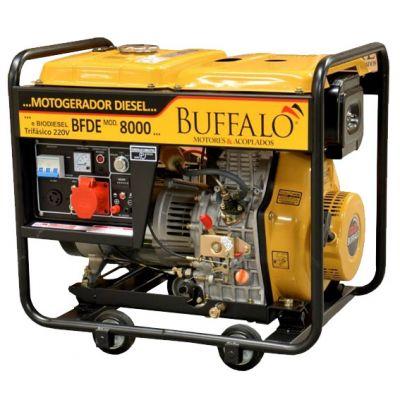Motogerador Diesel Bfde 8000 Monof P.e. Buffalo