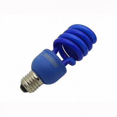 Lampada Espiral 26w Azul Taschibra