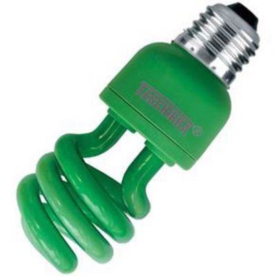 Lampada Espiral 26w Verde Taschibra