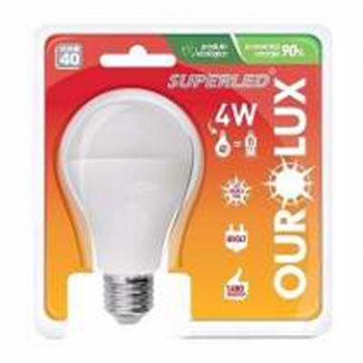 Lampada Led Bulbo 4w 6500k Ourolux