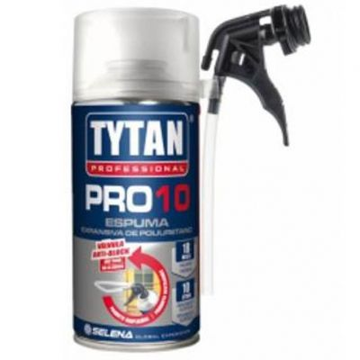 Espuma Poliuretano Pro10 300ml-205g Tytan
