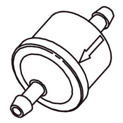 Filtro de Combustivel p/ Motor 18hp