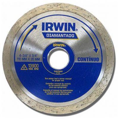 Disco Diamantado 110mm Liso Irwin
