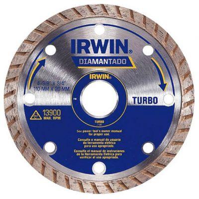 Disco Diamantado 110mm Turbo Irwin
