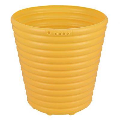 Vaso Plastico Mimmo 1,7 Litros Amarelo