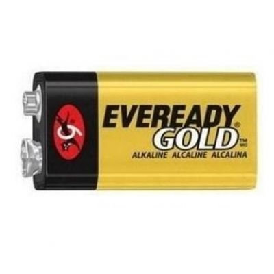 Bateria Alcalina Gold 9v