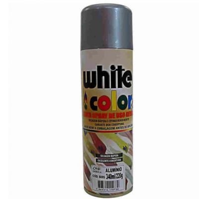 Tinta Spray Aluminio Alta Temp Colore 400ml