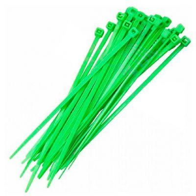 Abraçadeira Nylon  Verde 151x3,70mm - 100 Pcs