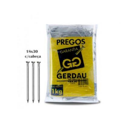 Prego 18x30 Gerdau