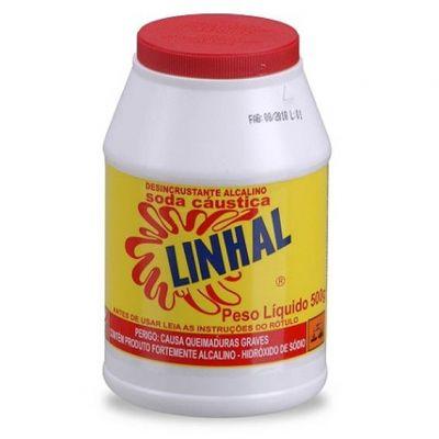 Soda Caustica 500g Linhal