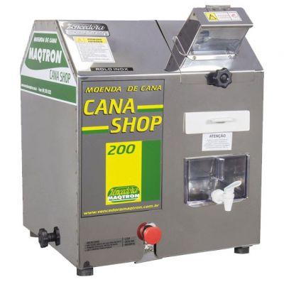Prensa Cana Shop 200 Inox